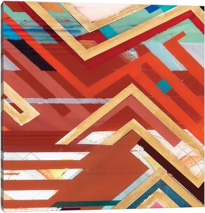Zig Zag II Canvas Art Print