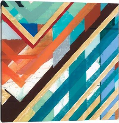 Zig Zag III Canvas Art Print