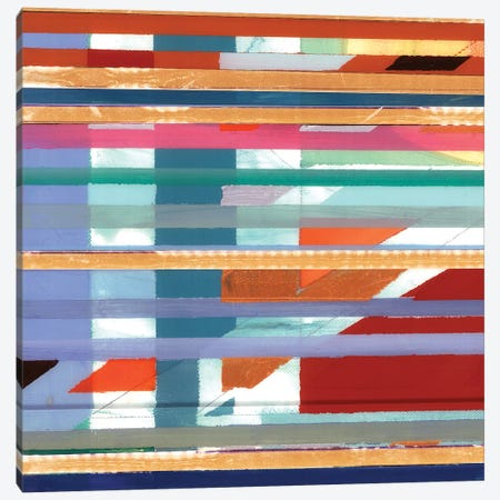 Zig Zag IV Canvas Print #BMO24} by Bellissimo Art Canvas Wall Art