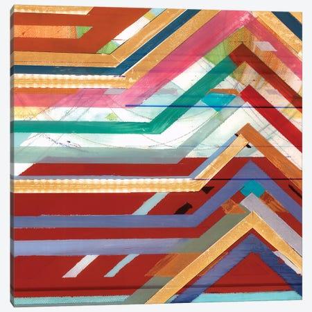 Zig Zag V Canvas Print #BMO25} by Bellissimo Art Canvas Art
