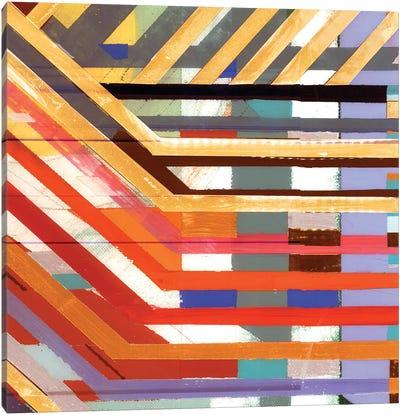 Zig Zag VI Canvas Art Print