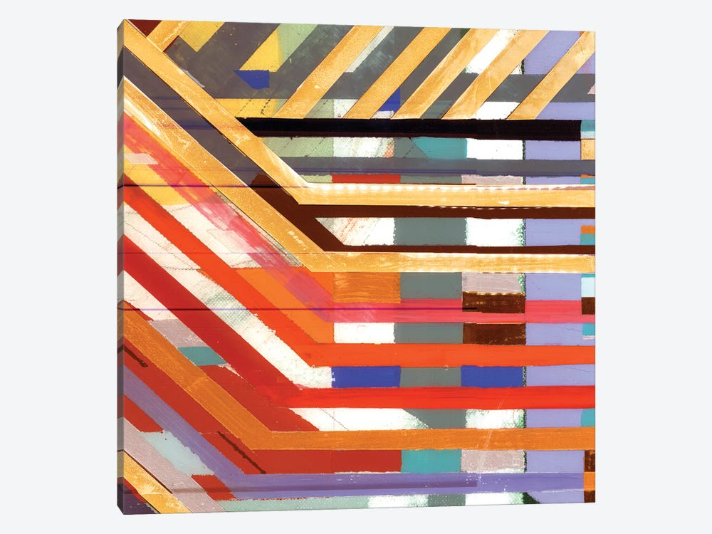 Zig Zag VI by Bellissimo Art 1-piece Art Print