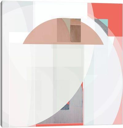 Stripes and Circles II Canvas Art Print