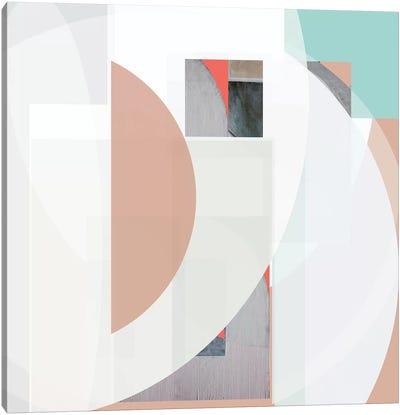 Stripes and Circles III Canvas Art Print