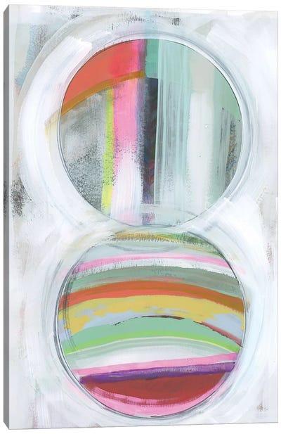 Art in Whites IX Canvas Art Print