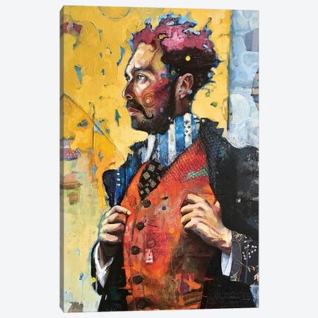 Mr. C Canvas Print #BMT22} by Juliette Belmonte Canvas Wall Art