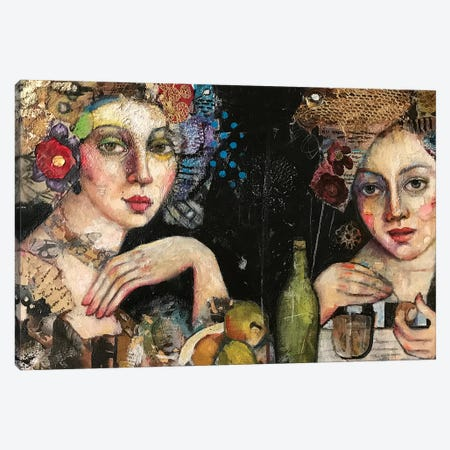 The Feast Canvas Print #BMT33} by Juliette Belmonte Art Print