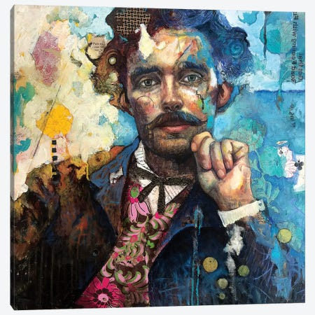 Mr K Canvas Print #BMT40} by Juliette Belmonte Canvas Artwork