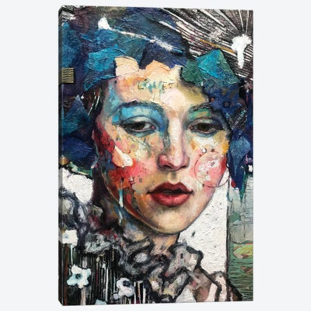 Sadie Canvas Print #BMT43} by Juliette Belmonte Canvas Artwork