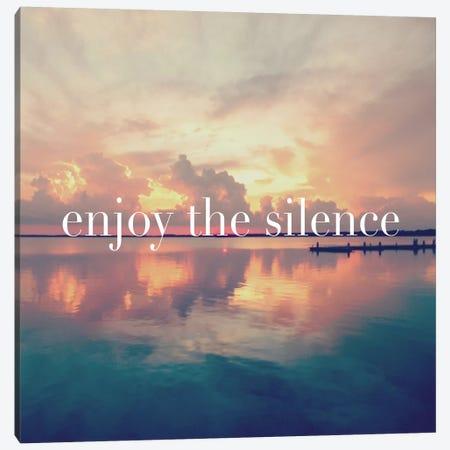 Enjoy the Silence Canvas Print #BNA13} by Bruce Nawrocke Canvas Art