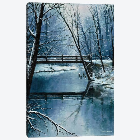First Snow Canvas Print #BNA15} by Bruce Nawrocke Canvas Print