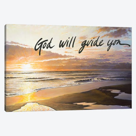 God Will Guide You Canvas Print #BNA16} by Bruce Nawrocke Canvas Art Print