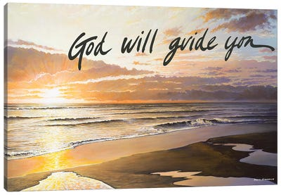 God Will Guide You Canvas Art Print