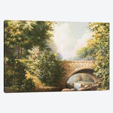 Grant Park Bridge Canvas Print #BNA18} by Bruce Nawrocke Canvas Wall Art