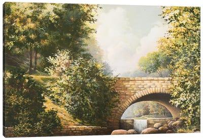 Grant Park Bridge Canvas Art Print