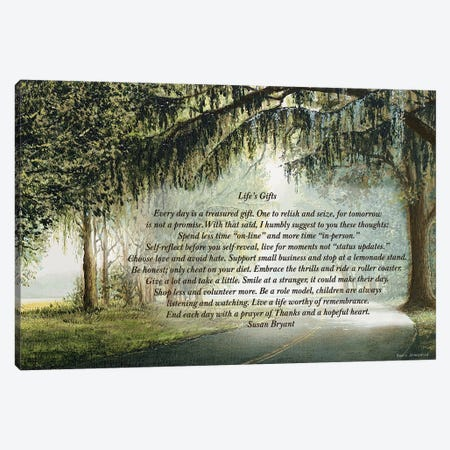 Life's Gifts Canvas Print #BNA23} by Bruce Nawrocke Canvas Print