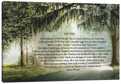 Life's Gifts Canvas Art Print