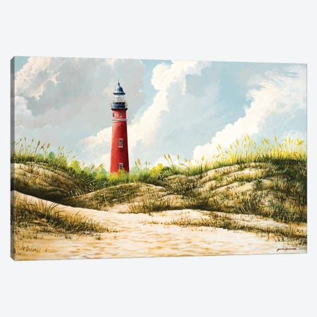 Lighthouse I Canvas Print #BNA24} by Bruce Nawrocke Canvas Wall Art
