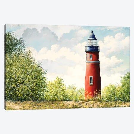 Lighthouse II 3-Piece Canvas #BNA25} by Bruce Nawrocke Canvas Art