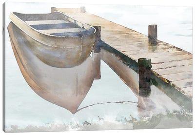 Nostalgic Pier Canvas Art Print