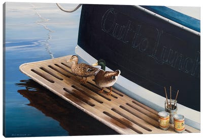 Out to Lunch Canvas Art Print