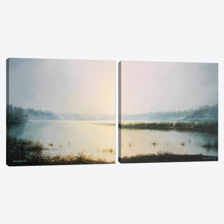 Early to Rise Diptych Canvas Print Set #BNA2HSET001} by Bruce Nawrocke Canvas Art