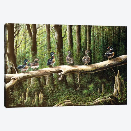 Pairing Up Canvas Print #BNA30} by Bruce Nawrocke Canvas Artwork