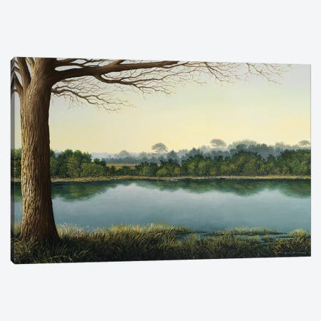 Peaceful Afternoon Canvas Print #BNA31} by Bruce Nawrocke Canvas Art