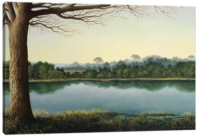 Peaceful Afternoon Canvas Art Print