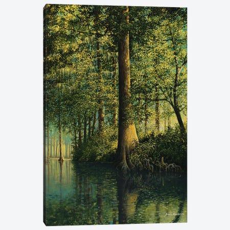 Peaceful River Canvas Print #BNA32} by Bruce Nawrocke Canvas Artwork