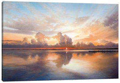 Sunset Sunrise Canvas Art Print