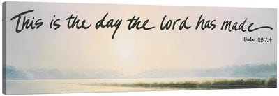 This is the Day Canvas Art Print