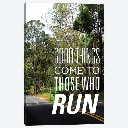 Those who Run Canvas Print #BNA53} by Bruce Nawrocke Canvas Art