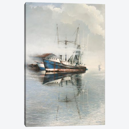 Time Rolls On Canvas Print #BNA54} by Bruce Nawrocke Canvas Print