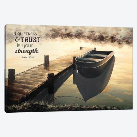 Trust (Quiet Morning) Canvas Print #BNA55} by Bruce Nawrocke Canvas Art Print