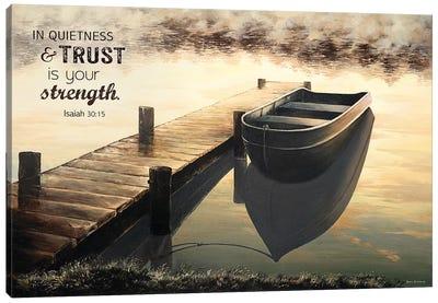 Trust (Quiet Morning) Canvas Art Print