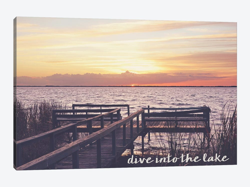 Dive Into the Lake by Bruce Nawrocke 1-piece Art Print