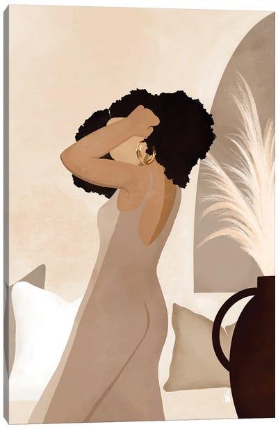 Nadia Canvas Art Print