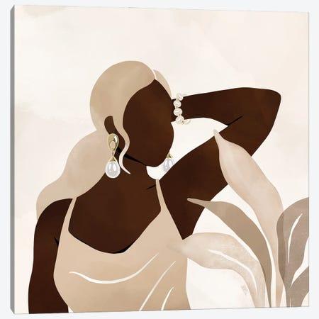 Jasmine Canvas Print #BNC104} by Bria Nicole Canvas Art Print