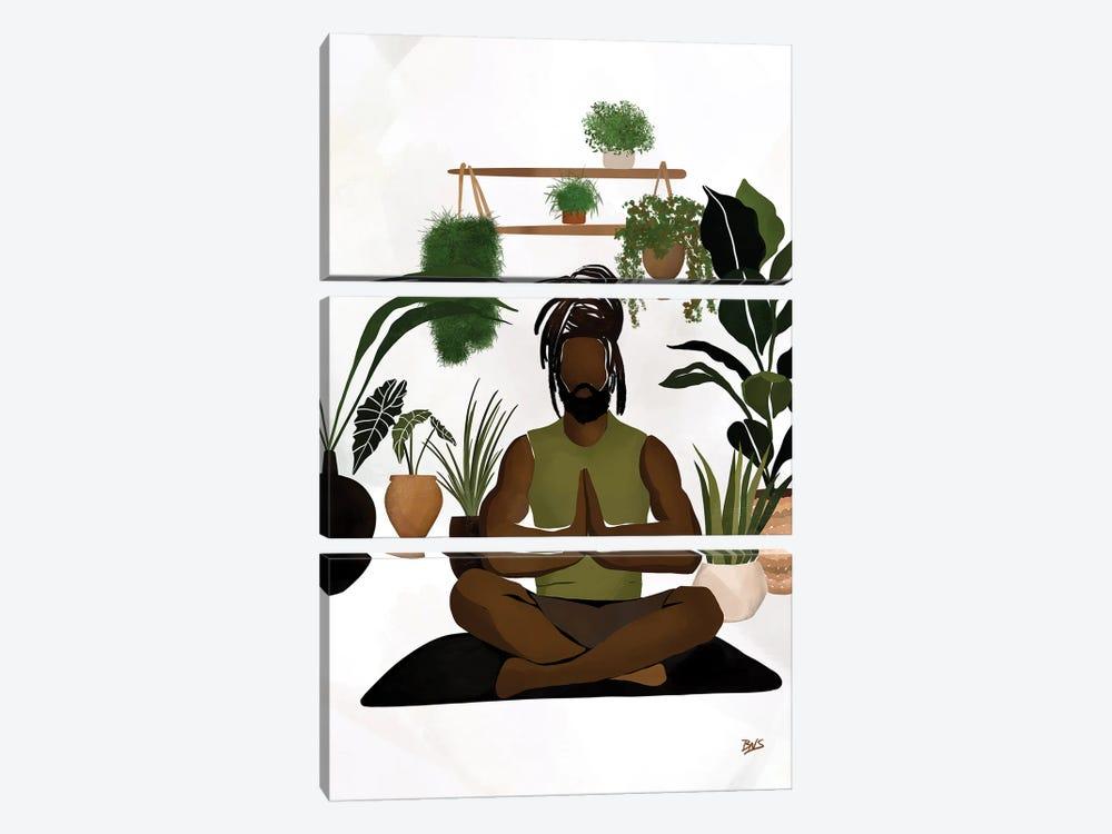 Centered II by Bria Nicole 3-piece Canvas Art Print