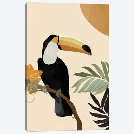 Toucan Canvas Print #BNC10} by Bria Nicole Canvas Artwork