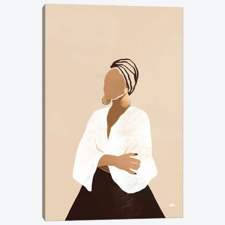 Celia (Brown) Canvas Print #BNC111} by Bria Nicole Canvas Art Print