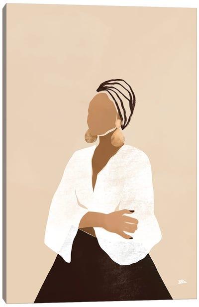 Celia (Brown) Canvas Art Print