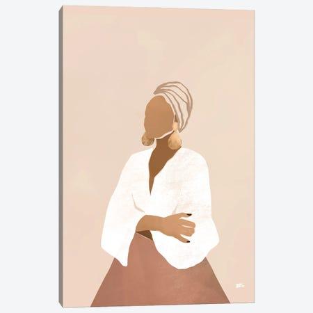 Celia (pink) Canvas Print #BNC112} by Bria Nicole Art Print