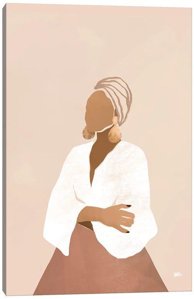 Celia (pink) Canvas Art Print