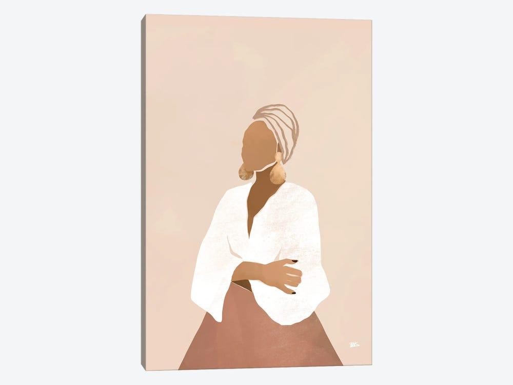 Celia (pink) by Bria Nicole 1-piece Canvas Art