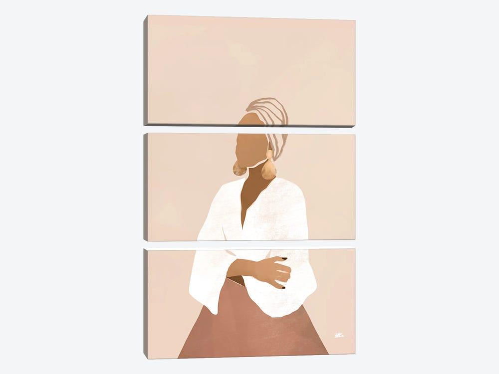 Celia (pink) by Bria Nicole 3-piece Canvas Art