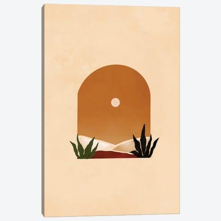 Desert Arch 1 Canvas Print #BNC113} by Bria Nicole Canvas Art Print