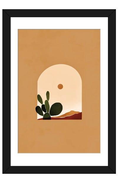 Desert Arch 2 Framed Art Print