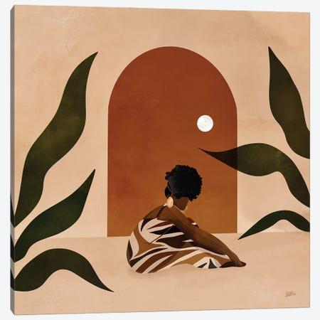 Golden Canvas Print #BNC120} by Bria Nicole Canvas Artwork